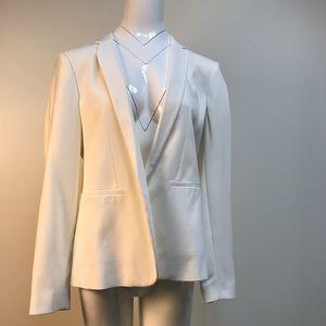 Topshop professional chic white blazer